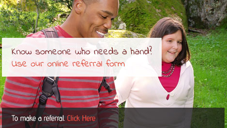 Use our referral form